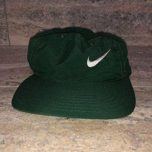 Vintage 90s Nike Green nylon SnapBack